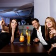Group of friends having fun - Stockfoto