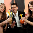 Friends having good time — Stock Photo