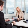 Business Interview - Foto de Stock