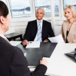 Stock Photo: Business Interview