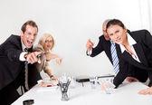 бизнес конфликт — Стоковое фото