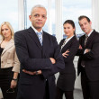 Stock Photo: Businessman standing in front