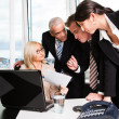 Business team at the meeting — Stock Photo #4804800