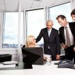 team di business alla riunione — Foto Stock