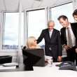 Business team at the meeting — Stock Photo #4804817