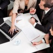 Business team at the meeting — Stock Photo #4804832