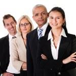 squadra forte business — Foto Stock