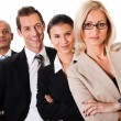 Strong Business Team — Stock Photo