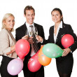 business team selebrating success — Stock Photo #4899301