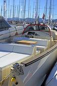 Yacht in Saint Tropez, France — Stock Photo