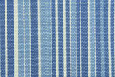 Blue striped fabric texture — Stock Photo