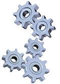 3d Cogwheel illustration — Stock Photo