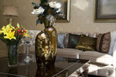 Luxury modern living room — Stock Photo