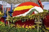 Flowers decorate — Stock Photo