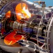 Engine of airplane — Stock Photo #4511891