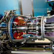 The engine of airplane — Stock Photo #4511907