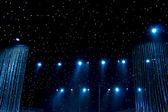 Beautiful stage lighting — Stock Photo