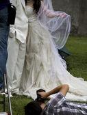 Happy Bride and Groom Photo — Stock Photo