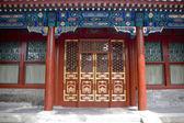 Chinese door — Stock Photo