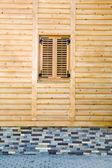 Wooden facade — Stock Photo