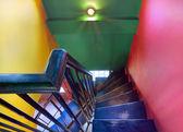 кафе лестницы — Стоковое фото