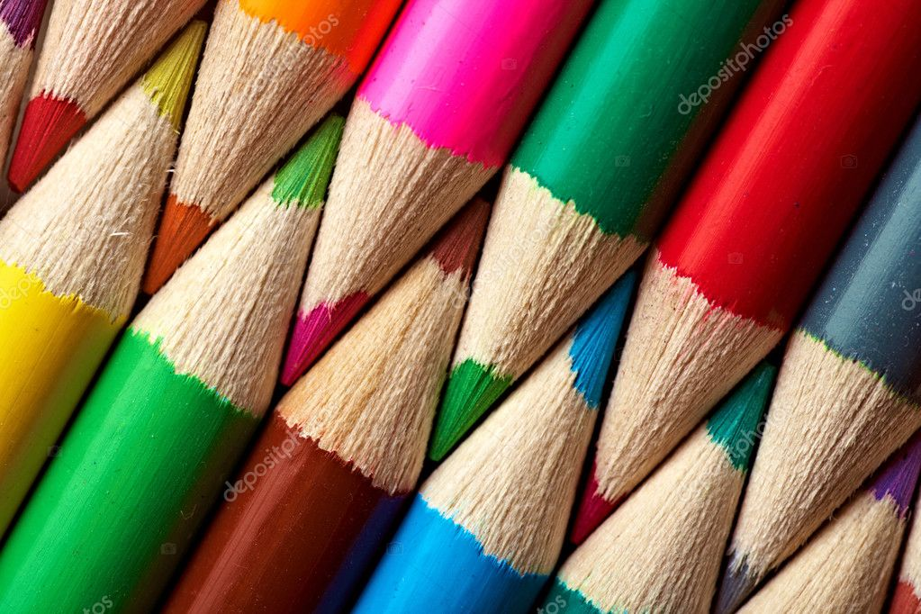 Close-up picture of multicolor pencils — Stock Photo #4214188