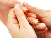 Hand massage — Stock Photo