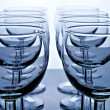 Glass goblet - Stock Photo