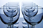 Glass goblet — Stock Photo