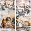 Russia, Novosibirsk, churchs - Photo