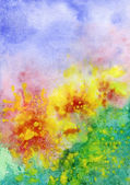 Abstract background, watercolor — Stockfoto