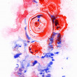 Abstract background, watercolor - Stock Photo