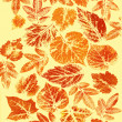 Abstract background, watercolor: leafs - Stock fotografie