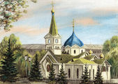 Voznesensky cathedral — Stock Photo