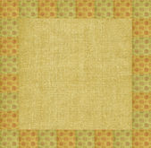 Background, pattern on a linen canvas — Stock Photo