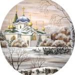 Постер, плакат: Voznesensky cathedral circle