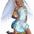 Lovely Angel — Stock Photo #4171094