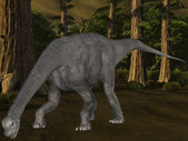 Camarasaurus-3D Dinosaur — Stock Photo