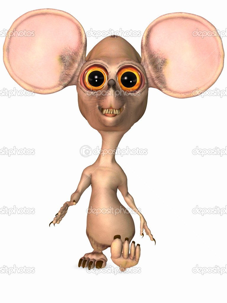 depositphotos 4171229 Toon Rat pregnant hairy