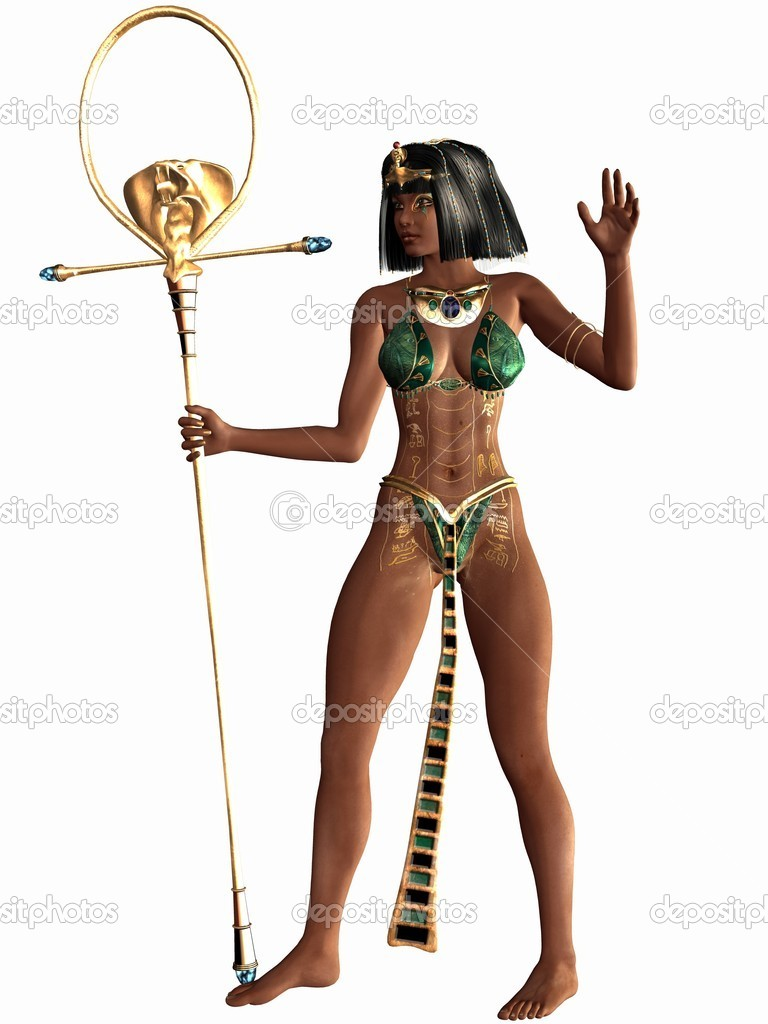 3D Render of a Egyptian 3D Figure  — Stock Photo #4182196
