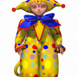 Cute Harlequin — Stock Photo