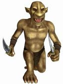 Fantasy Figure - Goblin — Stock Photo