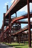 Coal mine industrial complex — Stock Photo