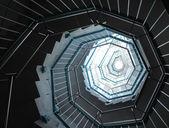 спиральная лестница — Стоковое фото
