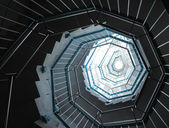 Spiral trappor — Stockfoto