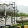 Stock Photo: Metal tanks
