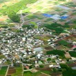 Village aerial photo - Stock Photo