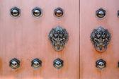 Chinese deur — Stockfoto