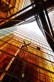 Glass building wall — Stock Photo
