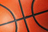 Orange Basketball close up — Stock Photo
